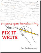Fix It...Write
