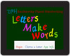 Letters Make Words App for your iPad